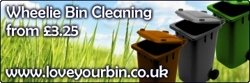 Love Your Bin | Wheelie Bin Cleaning Services in Hatfield, Welwyn Garden City, Welwyn, St Albans, Harpenden, Redbourn, Wheathampstead and Surrounding Areas...